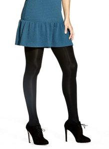 No Nonsense Womens Super Opaque Control Top Tights