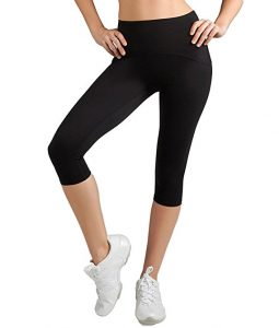 Spanx Active Womens Shaping Compression Knee Pant Black Pants